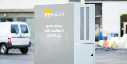 Helen's electric vehicle charging points to become part of nationwide network