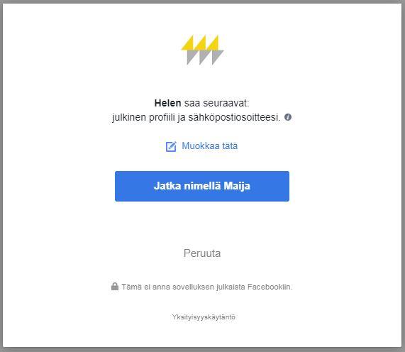 Www.Facebook.Fi Kirjautuminen