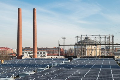 Suvilahti solar power plant