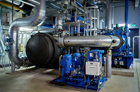 Helen invests in heating and cooling plant