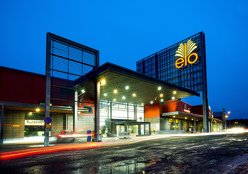 Helen is building Finland's first solar power plant of over 1 MW on the roof of Elo Shopping Centre