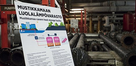 Construction of Finland's largest rock cavern heat storage facility starts