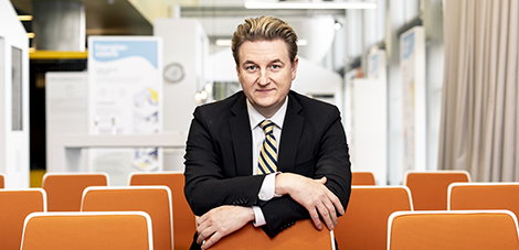 New CEO Juha-Pekka Weckström picks up the reins at the world-class energy company