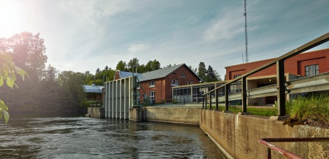 More renewable energy from the Klåsarö hydropower plant