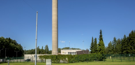 Oil tank in the Lassila heating plant to be replaced